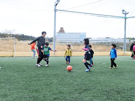 親子サッカースクール写真1